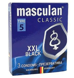 Masculan Classic XXl black