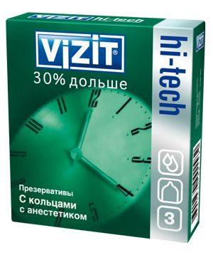 VIZIT HI-TECH 30% дольше