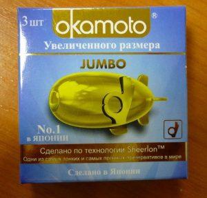 Okamoto Jumbo упаковка