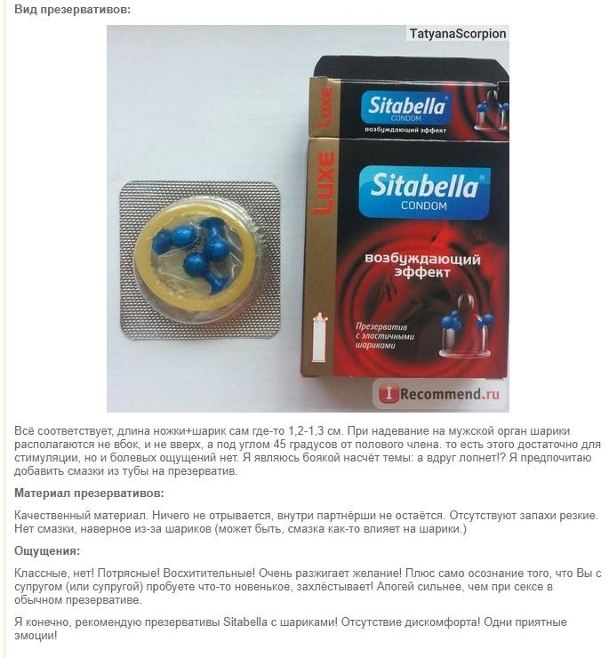 Отзыв о Sitabella с эластичными шариками - потрясающие ощущения