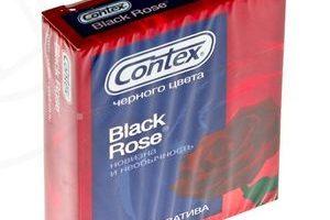Миниатюра к статье Презервативы Contex Black Rose