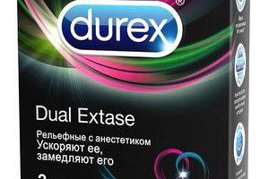Миниатюра к статье Презервативы Durex Dual Extase