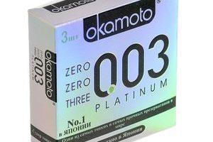 Миниатюра к статье Презервативы Okamoto Platinum