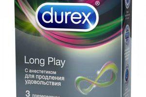 Миниатюра к статье Презервативы Durex Long Play