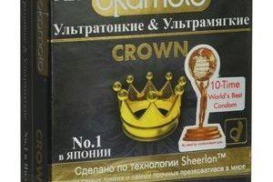 Миниатюра к статье Презервативы Okamoto Crown